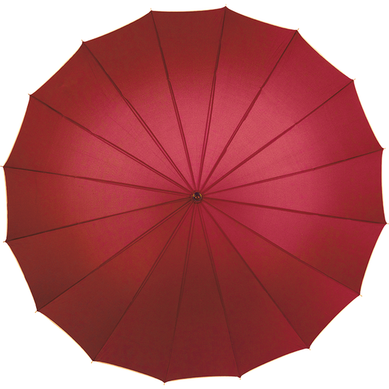 Red umbrella for weddings