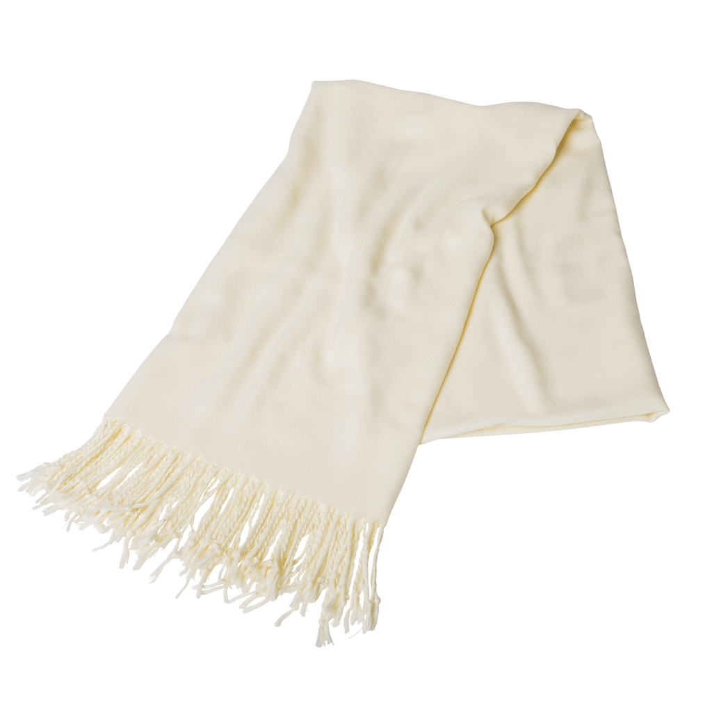 Ivory pashmina shawls for weddings