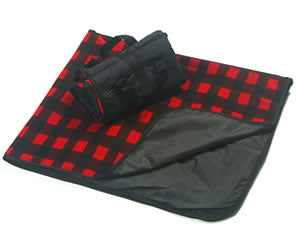 Red Plaid Picnic Blanket