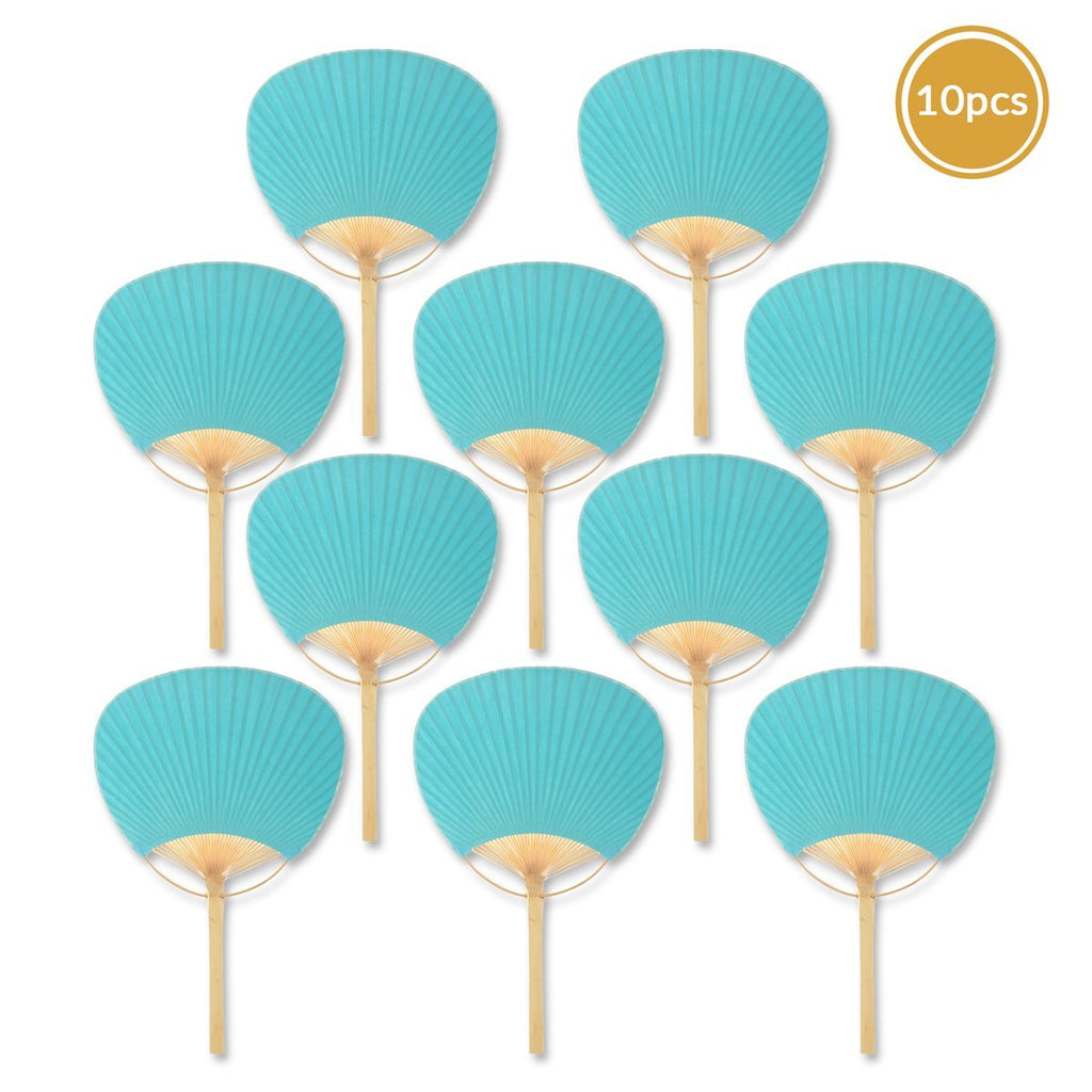 Water Blue Paddle Fans