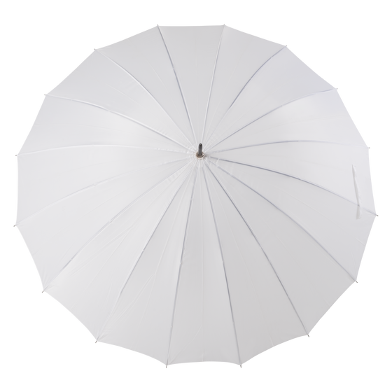 White umbrellas for rental