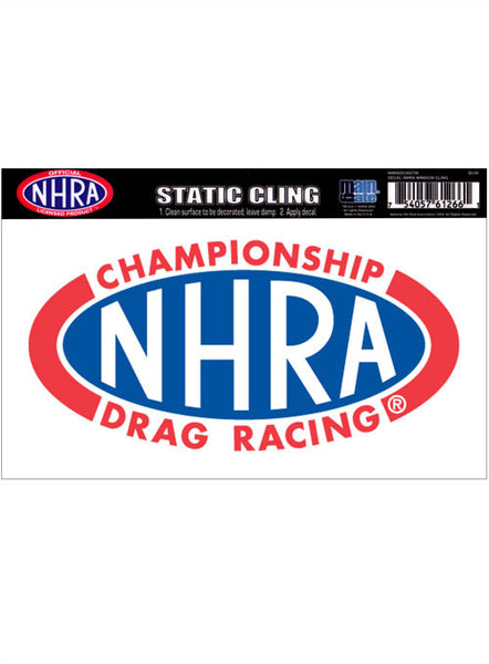 NHRA Window Cling