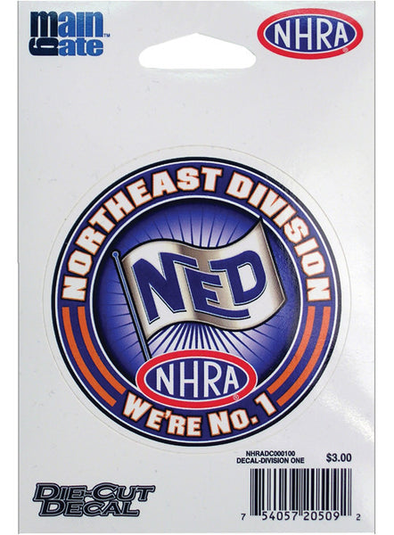 Small Division One/Northeast Division Decal