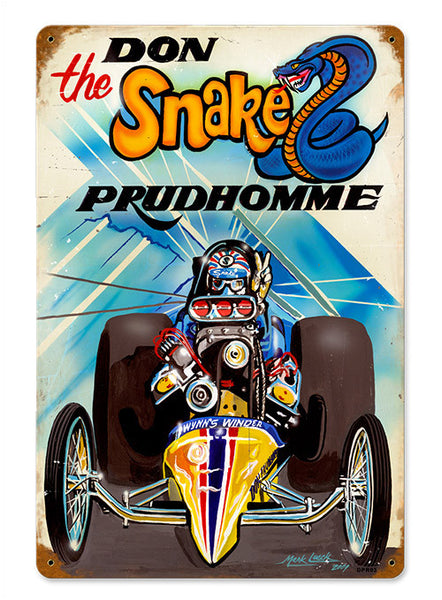 Don ''the Snake'' Prudhomme Sign