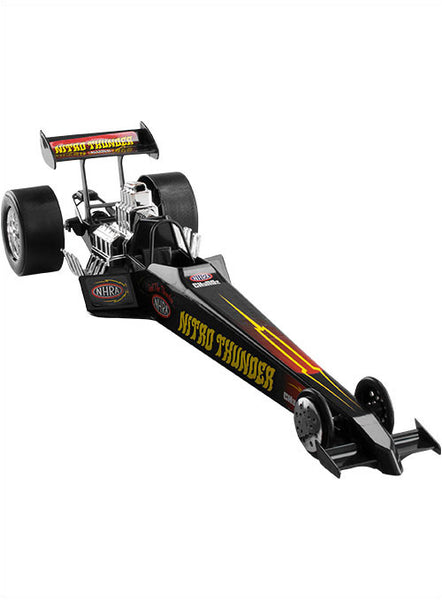 Black Plastic Toy Dragster