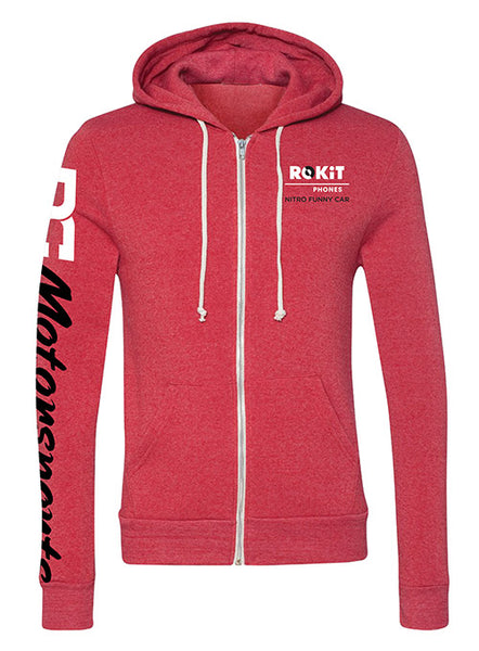 Ladies DC Motorsports Full Zip Hooded Sweatshirt