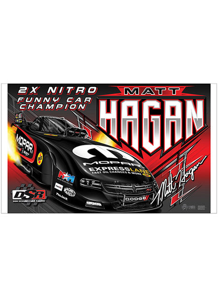 Matt Hagan 2018 Banner