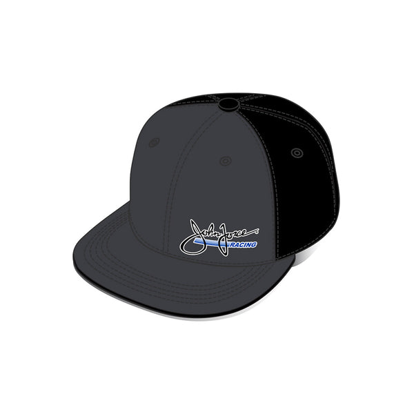 John Force Racing Flat Bill Snapback Hat