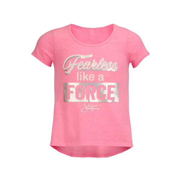 Girls Fearless Like a Force T-Shirt