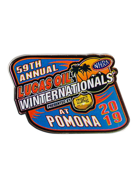 Lucas Oil NHRA Winternationals Event Hatpin