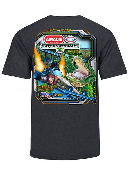 51st Amalie Motor Oil NHRA Gatornationals Event T-Shirt