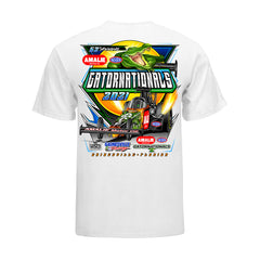 52nd Amalie Motor Oil NHRA Gatornationals Event T-Shirt