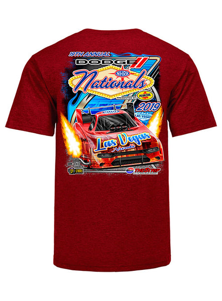 Dodge NHRA Nationals Presented by Pennzoil Event T-Shirt