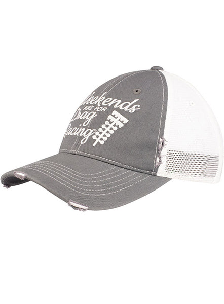 Weekends Are For Drag Racing Hat