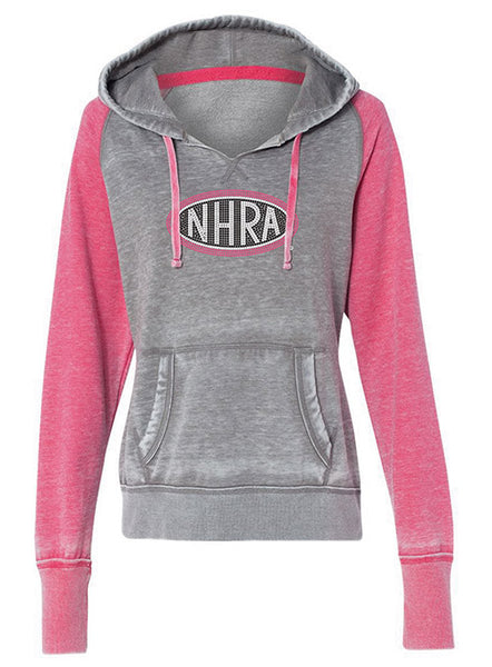 Ladies Sequins NHRA Logo Sweatshirt