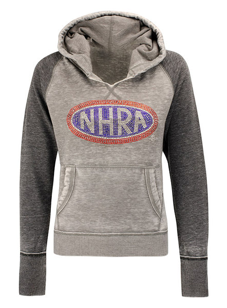 Ladies Rhinestone NHRA Sweatshirt
