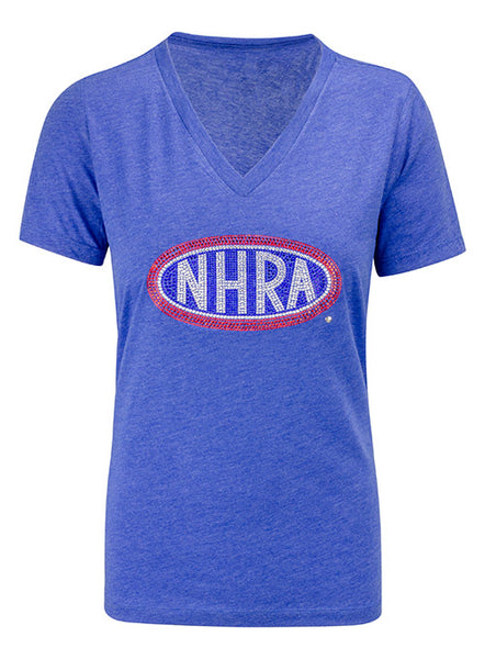 Ladies Rhinestone NHRA T-Shirt
