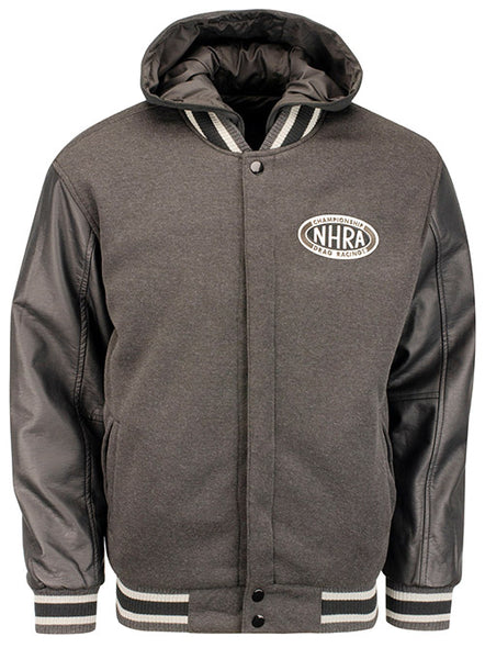 NHRA Hooded Reversible Bomber Jacket