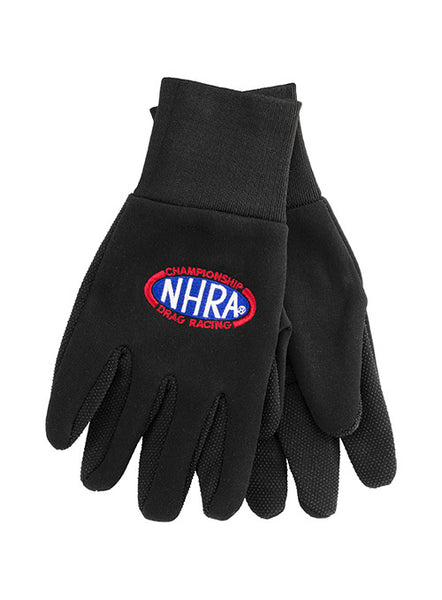 NHRA Oval Logo Gloves