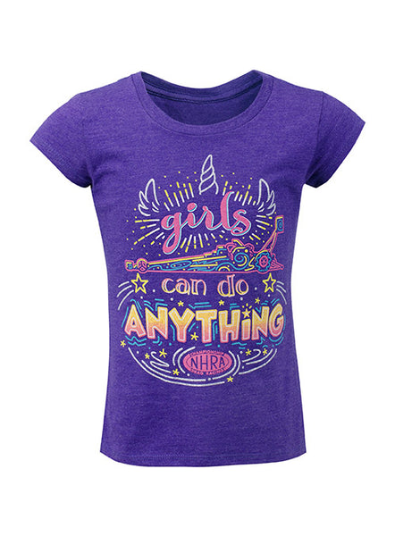 Girls Can Do Anything NHRA T-Shirt