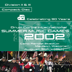 2002 DCI Division II & III CD