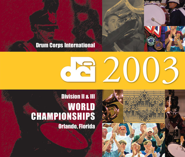 2003 Division II & III Championship CD