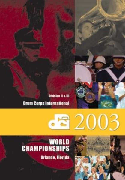 2003 Division II & III DVD