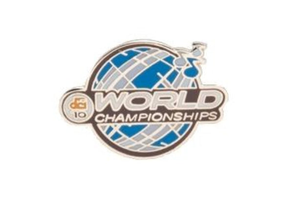 2010 DCI World Championships Lapel Pin