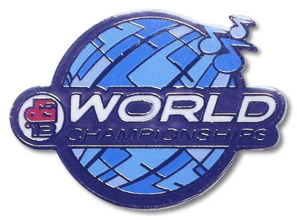 2012 World Championships Lapel Pin