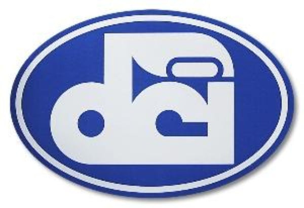 DCI Logo Sticker