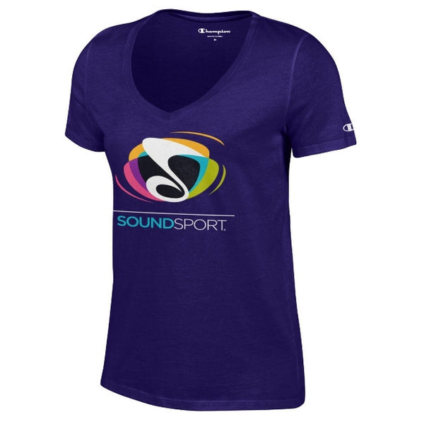 Womens SoundSport V-Neck T-Shirt