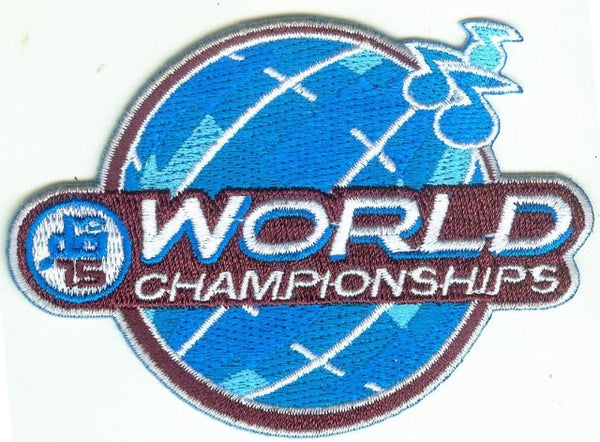 2015 World Championships Patch
