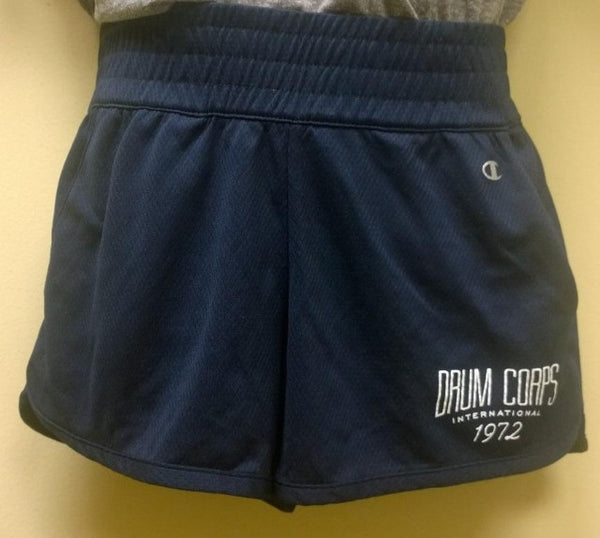 Womens Blue Endurance Shorts