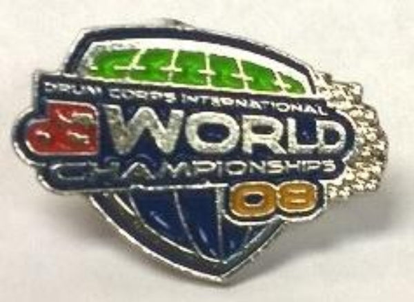 2008 World Championships Pin