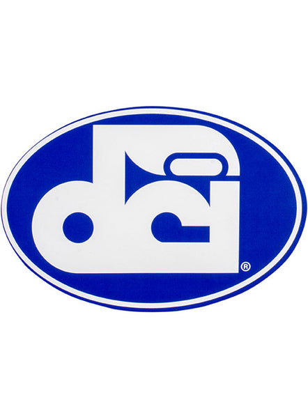 DCI Oval Logo Decal