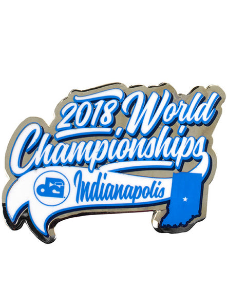 2018 World Championship Pin