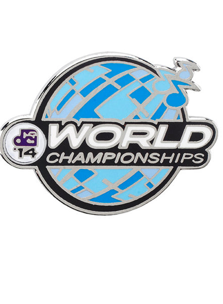2014 World Championships Pin