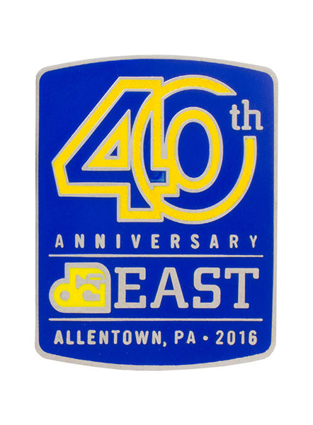 Allentown 40th Anniversary Pin