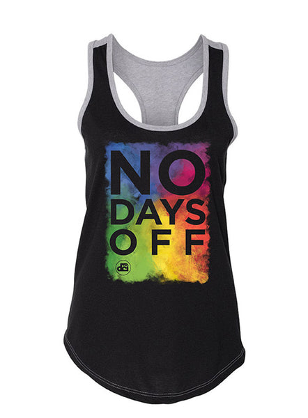 No Days Off Performance Ladies Tank Top