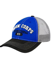 Blue Collegiate Drum Corps International Cotton Twill Hat