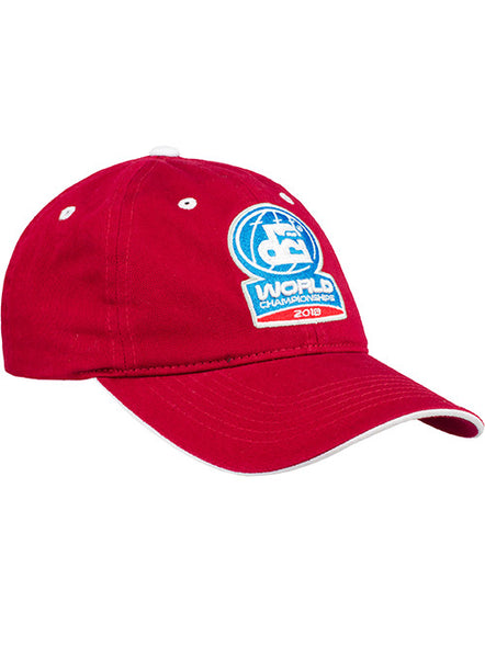 Red Unstructured 2018 DCI World Championships Hat