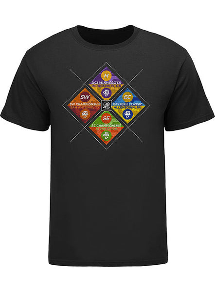 All NEW 2017 DCI Regional Tee