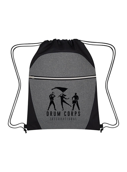 DCI Two-Tone Drawstring Sports Bag
