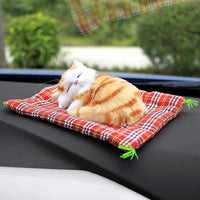 Cutest Sleeping Cat - Perfect for Your Car / Office Desk