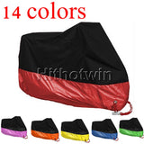 High Quality Universal Outdoor UV Rain Dustproof Protector Motorcycle cover - 14 Colors