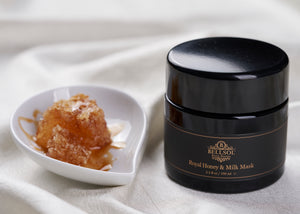 Bellsol Royal Honey and Milk Mask luxurious mask made with raw honey, royal jelly, cocoa and shea butter, jojoba oil, propolis. Best mask for dry skin, dry hands, dry bleached color treated hair with split ends.