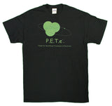 "Men's P.E.T.e. ""People For The Ethical Treatment of Electrons"" Funny T-Shirt"