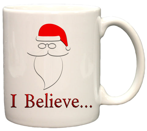 I Believe... Christmas Holiday 11oz Coffee Mug