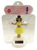 4 Inch Solar Powered Dancing Hula Girl, Yellow