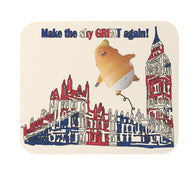 Make the Sky Great Again Trump Balloon Funny Heavy Duty Mouse Pad